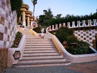 Escalinata drac